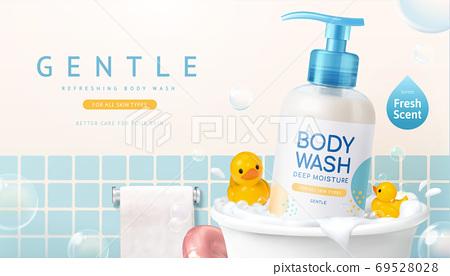 Body wash banner ad 69528028