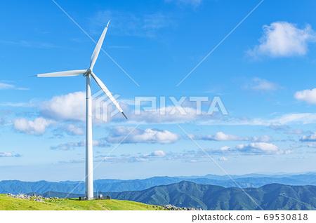 시코쿠 카르스트와 풍력 발전소 69530818