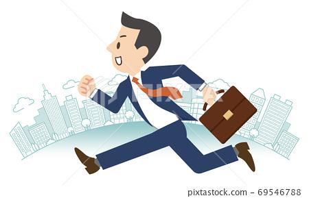 跑在办公室镇的商人 69546788