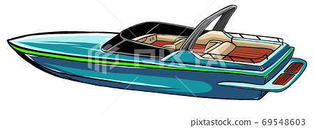 sea boat Icon Vector Illustration graphics art 69548603