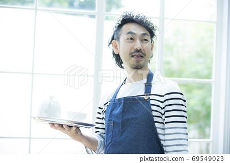 咖啡廳餐廳店員 69549023