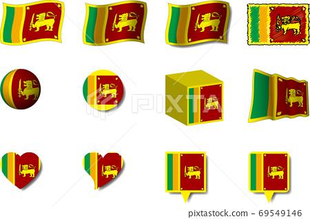 斯里蘭卡國旗集 69549146
