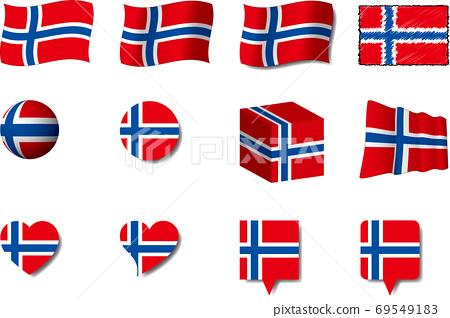 挪威國旗集 69549183