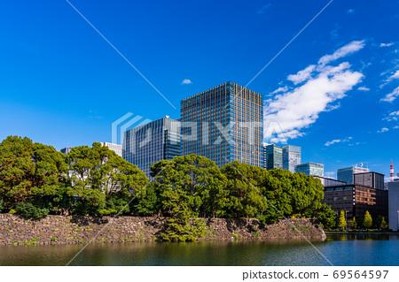 (東京都)秋天日比谷公園辦公區 69564597