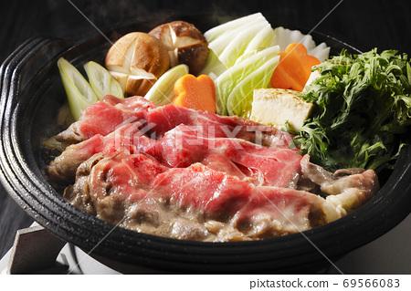 日本國產牛腰肉壽喜燒 69566083