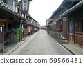 倉敷胡同里排成一排的老建築 69566481