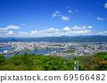 從高台山,高知市和遠處群山的景色 69566482