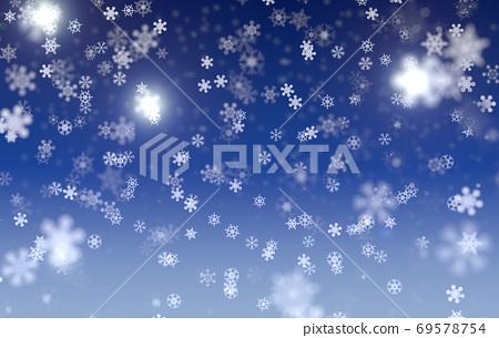雪落的夜晚 69578754