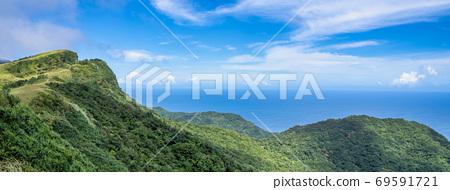 桃源谷 草嶺線 步道 草嶺古道 台北 宜蘭 景點 草原 grassland Taiwan  69591721