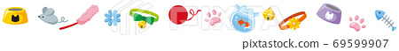 無盡線的各種貓咪商品圖標 69599907