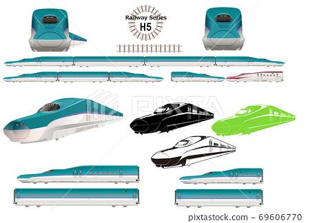 Limited express train Shinkansen E5 series Hayabusa 69606770