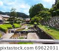 Izushi Castle Izushi Summer Wall Toyooka 69622031