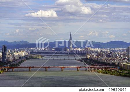 한국 서울시 중구신당동산51 매봉산 69630045