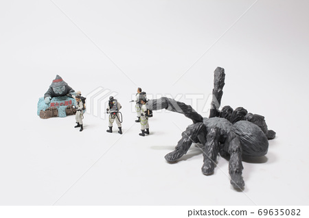 a team of figures face of the monster 69635082