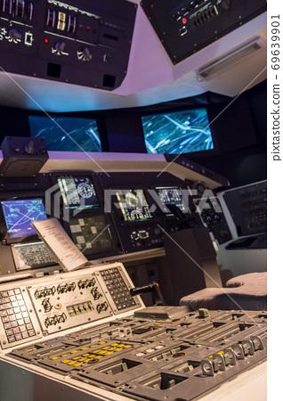 Cabin space shuttle 69639901
