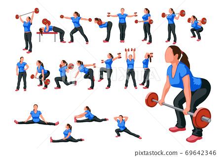 woman athlete 69642346