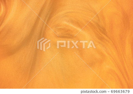 bright orange glitter shimmering magic bokeh background 69663679