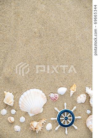 Summer holiday concept, Summer beach accessories 007 69665344
