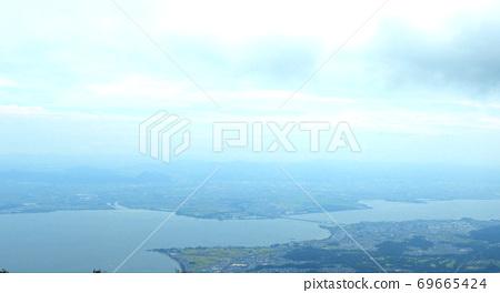 從琵琶湖谷眺望琵琶湖的景色 69665424