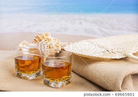 Summer holiday concept, Summer beach accessories 144 69665601
