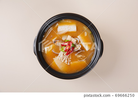 Delicious Korean food, a collection of various Korean dishes 243 69666250