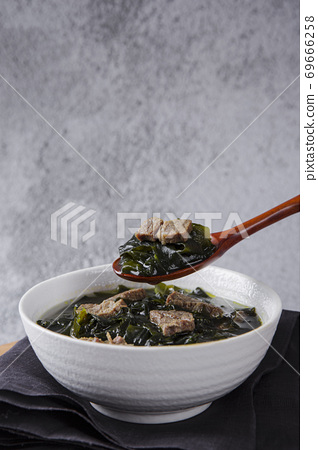 Delicious Korean food, a collection of various Korean dishes 235 69666258