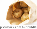 Potatoes in a craft bag 69666684