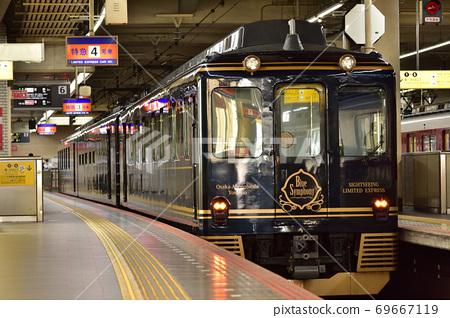 Kintetsu Limited Express Blue Symphony 69667119