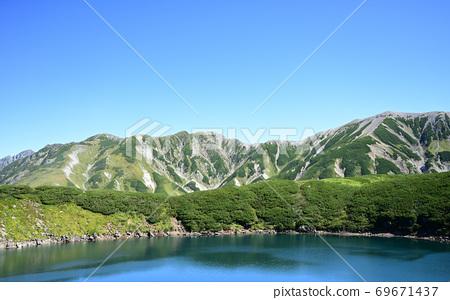 다테야마 _ 무로 - 미 구리가 연못 풍경 69671437