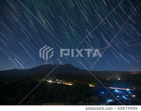 柳又 뷰 포인트에서 온 타케 산에 가라 앉는 별들 69674998