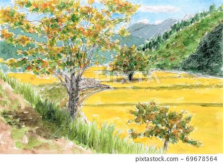 가을의 풍경 69678564