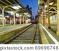 阪神列车的惠比寿站,以在大阪存在的公路列车而闻名 69696748