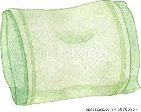 綠色枕頭 69700567