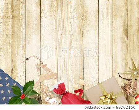 圣诞背景素材-有多种变体 69702156
