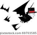 伯爵與蝙蝠飛 69703585