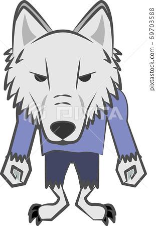 狼般的眼神 69703588