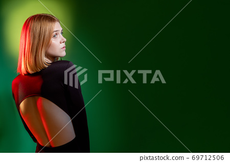 worried woman portrait social anxiety disturbed 69712506