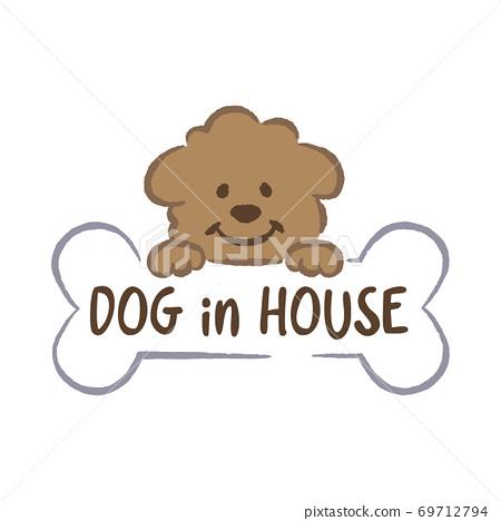 玩具獅子狗插圖 69712794