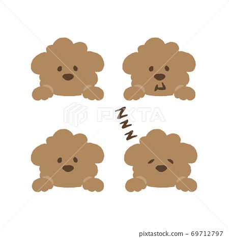 玩具獅子狗插圖 69712797