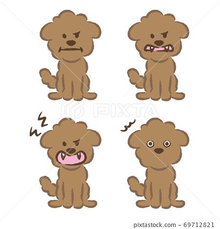 玩具獅子狗插圖 69712821