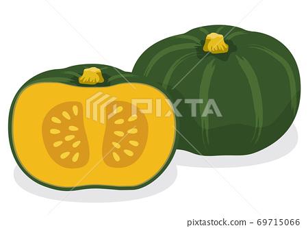 蔬菜_南瓜 69715066