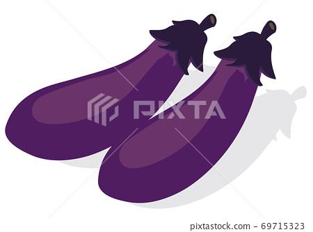蔬菜_茄子 69715323
