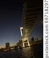 Rainbow Bridge seen from Tokyo Bay Cruise 69718297