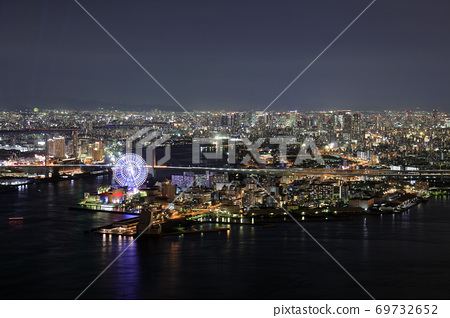 大阪灣地區夜視圖 69732652