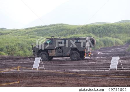육상 자위대의 부시 마스터 운송 보호 차량 69735892