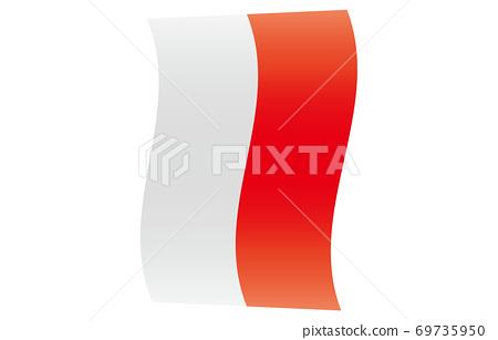 新世界標誌2:3 Ver梯度垂直波形印度尼西亞 69735950