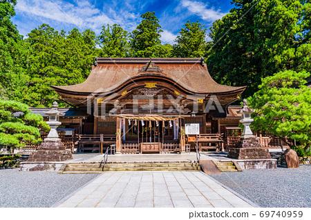 (靜岡縣)在小國神社的秋天 69740959