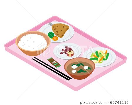 일본의 병원 급식 (아지후라이) 69741113