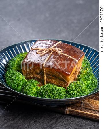 東坡肉 年菜 滷肉 控肉 魯肉 Dongpo Pork Braised Pork トンポーロー 69745704