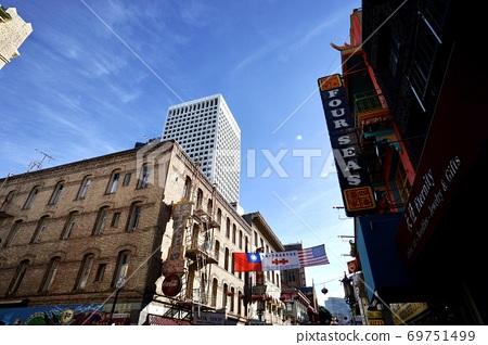 加州舊金山唐人街 69751499